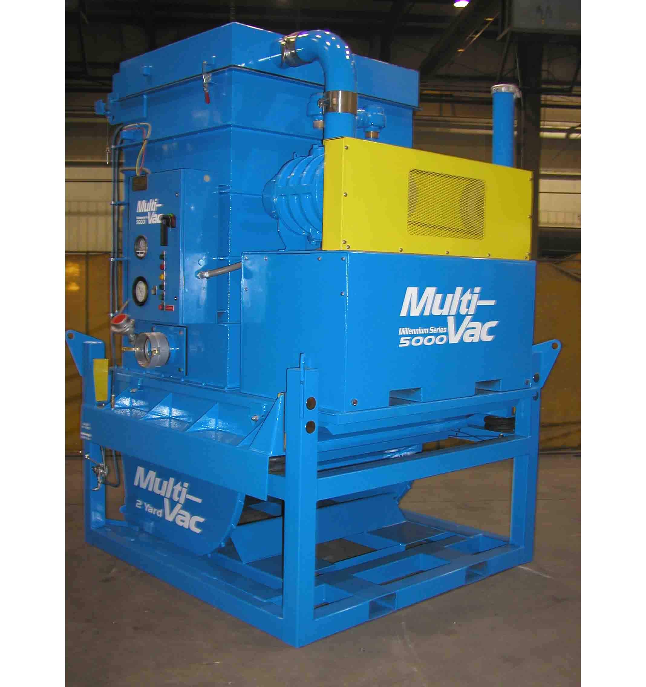 industrial vacuum loader