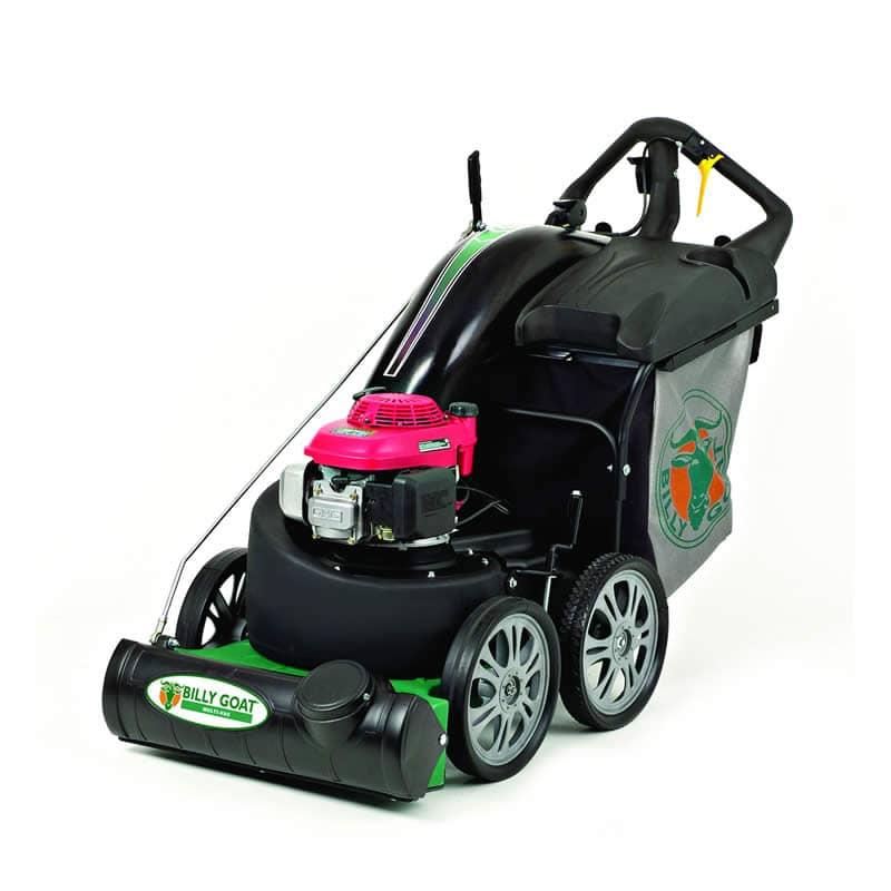 leaf vacuum machine