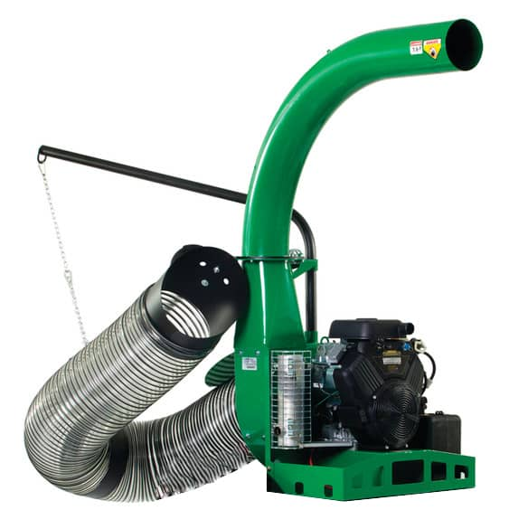 leaf vacuum machine