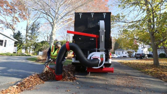Monster Truck Loader 18hp litter vacuum